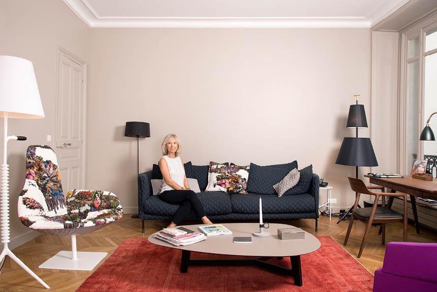 Le chic parisien rencontre avec ingrid j for Interieur appartement parisien