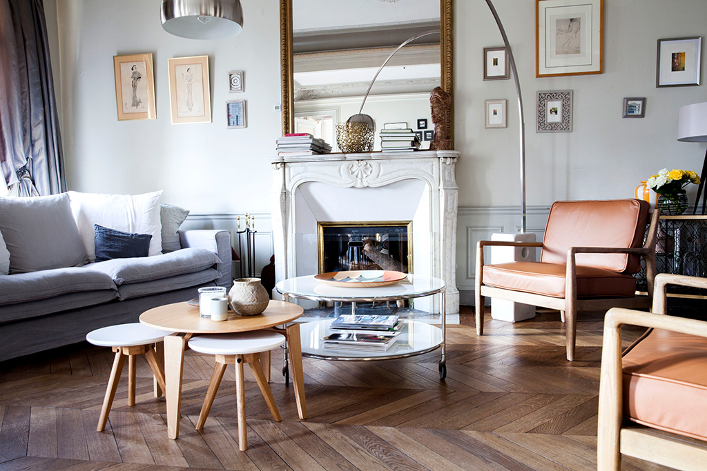 D co clectique westwing magazine - Interieur appartement parisien ...