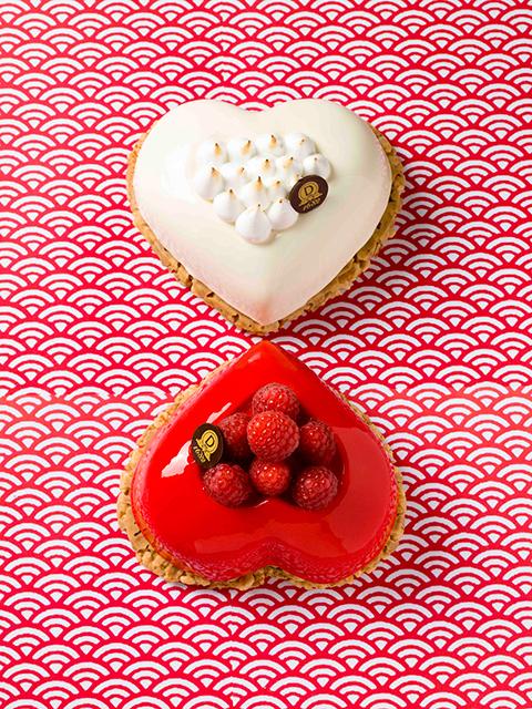 Saint-Valentin : les créations des grands chefs pâtissiers