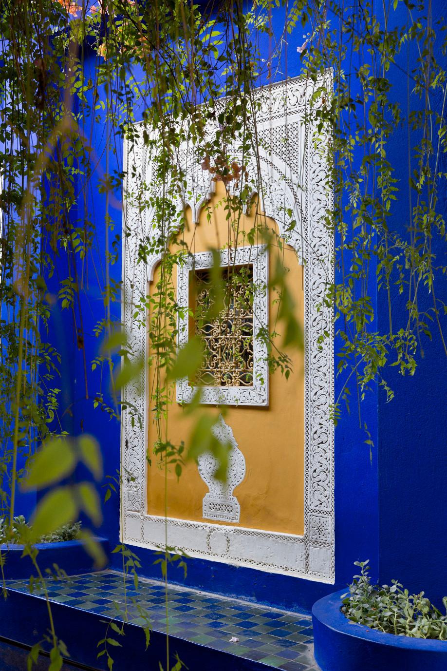 Le jardin majorelle le jardin bleu de marrakech westwing for Jardin majorelle