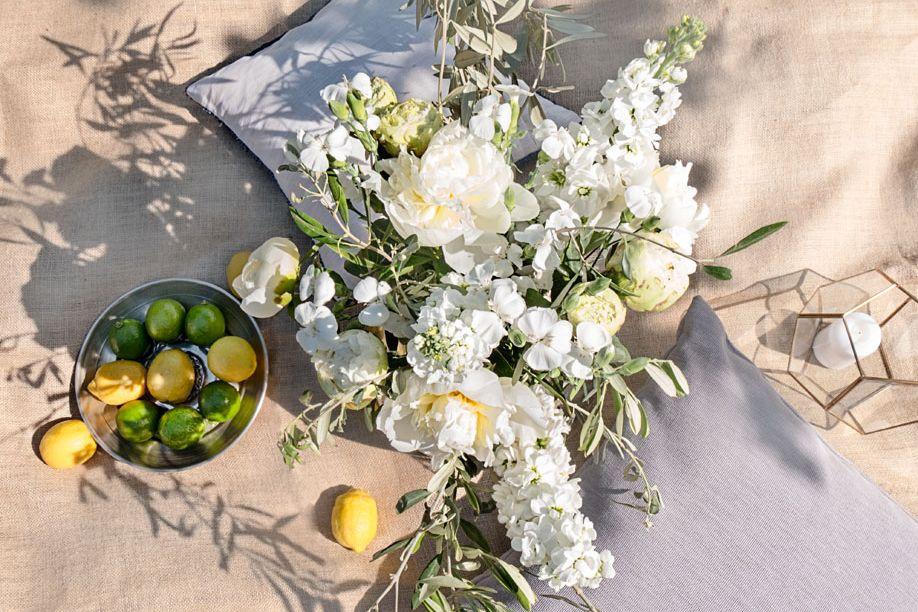 Le bouquet du mois de juin blanc et sauvage