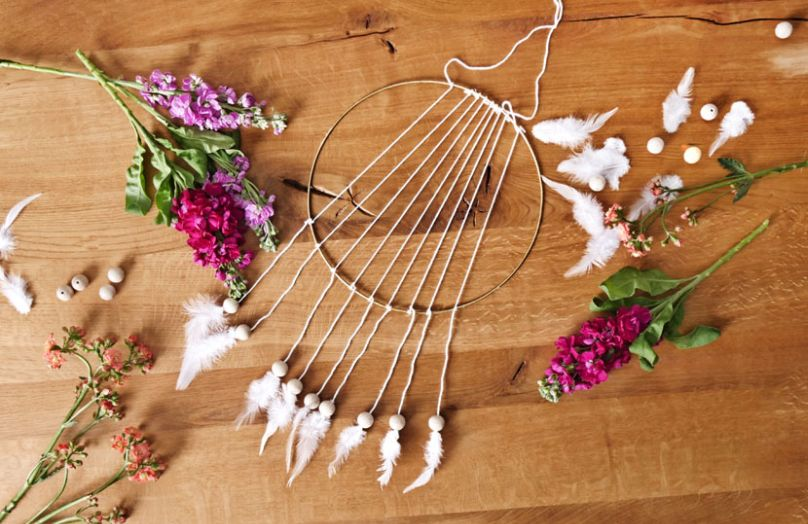 DIY – un attrape-rêves boho