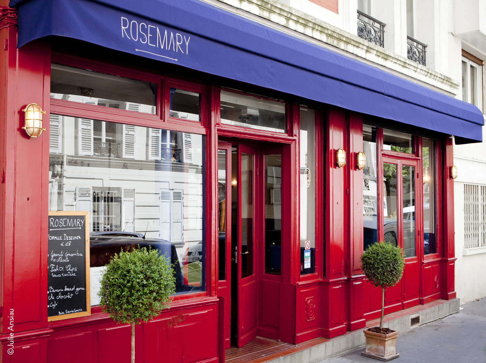 Rosemary : un gastropub British à Paris