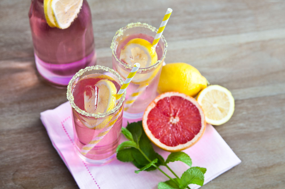 Recette : Pink Lemonade