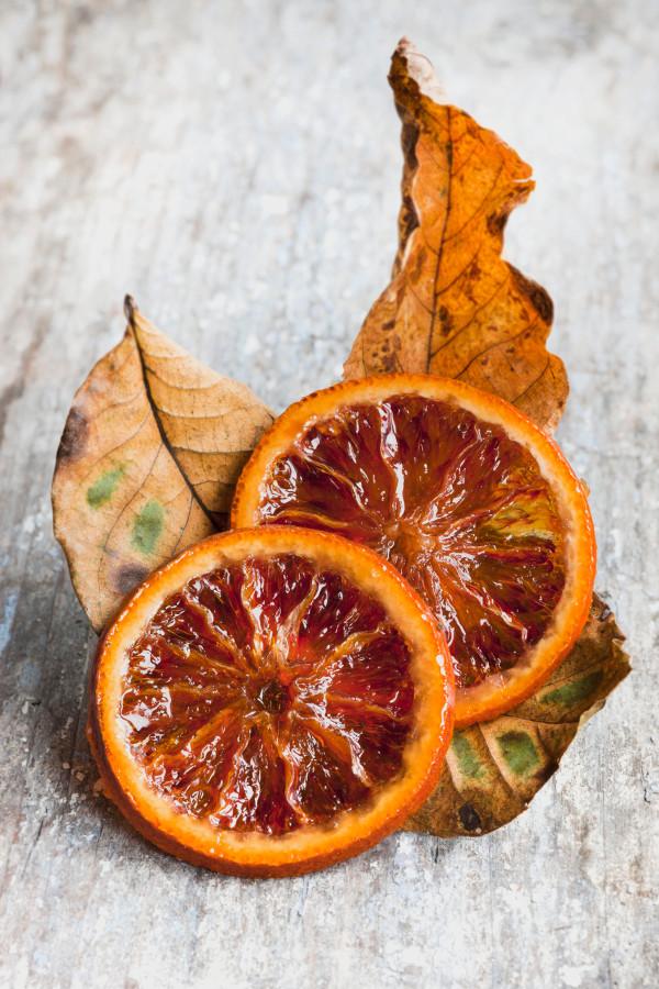 décor de table automnal : fruits