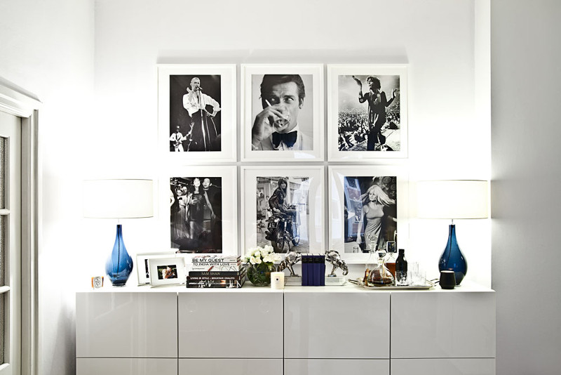 Décoration glamour: photographies