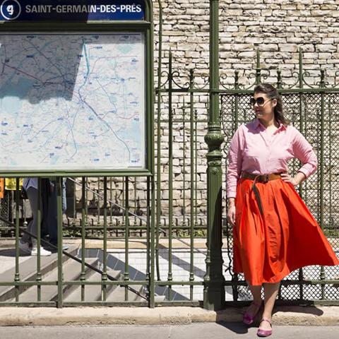 Style Trip à Paris avec Elise
