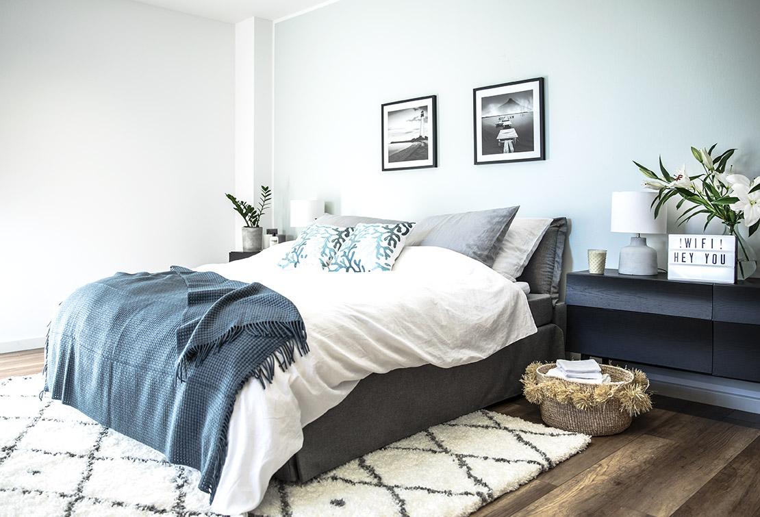 astuces pour am nager la parfaite chambre d 39 amis. Black Bedroom Furniture Sets. Home Design Ideas