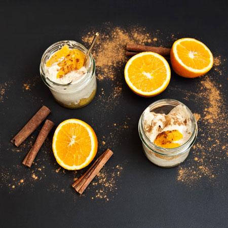 Recette de la crème glacée à la cannelle sans sorbetière