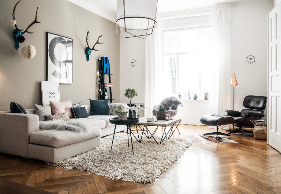 Visite guid e vision scandi munich westwing for Wohnzimmer scandi style