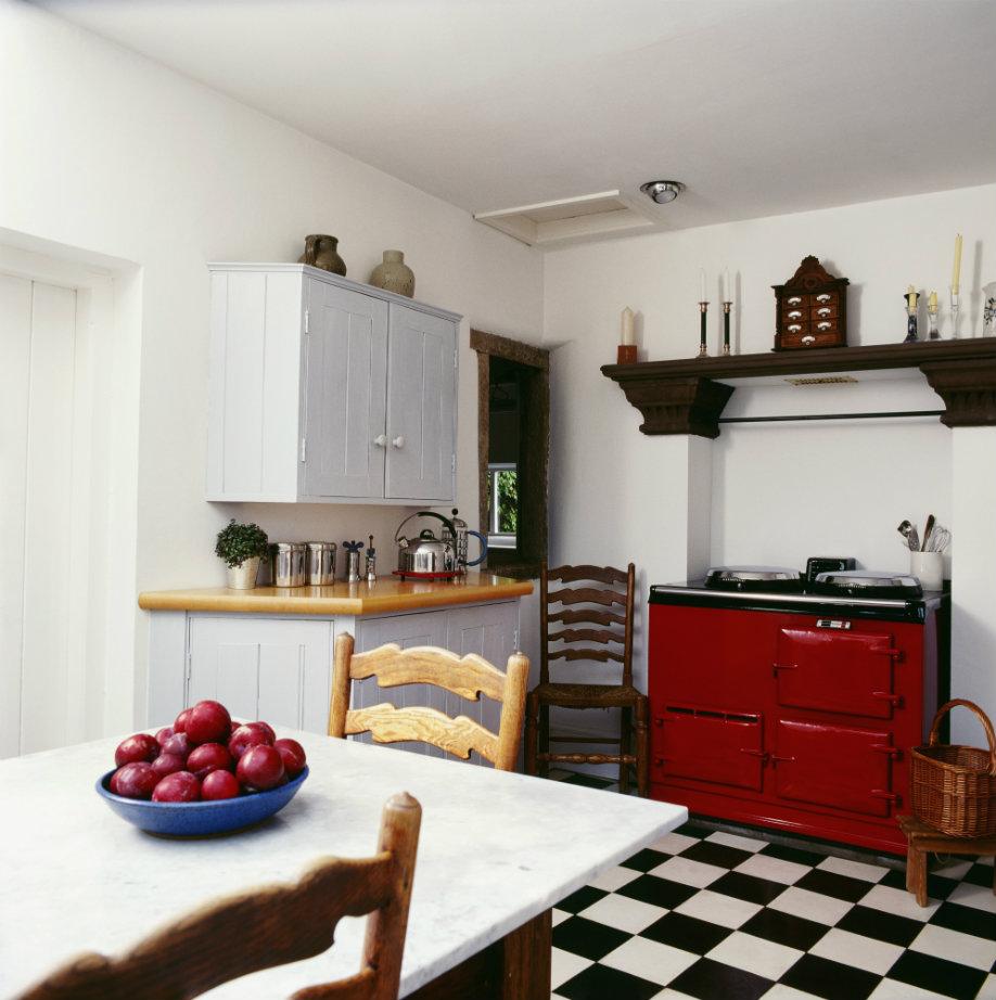 Top 5 des accessoires r tro pour une cuisine vintage for Cuisine retro rouge