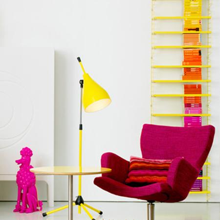 Comment décorer avec des couleurs vives