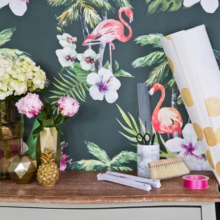 DIY – Poser du papier peint sans colle !