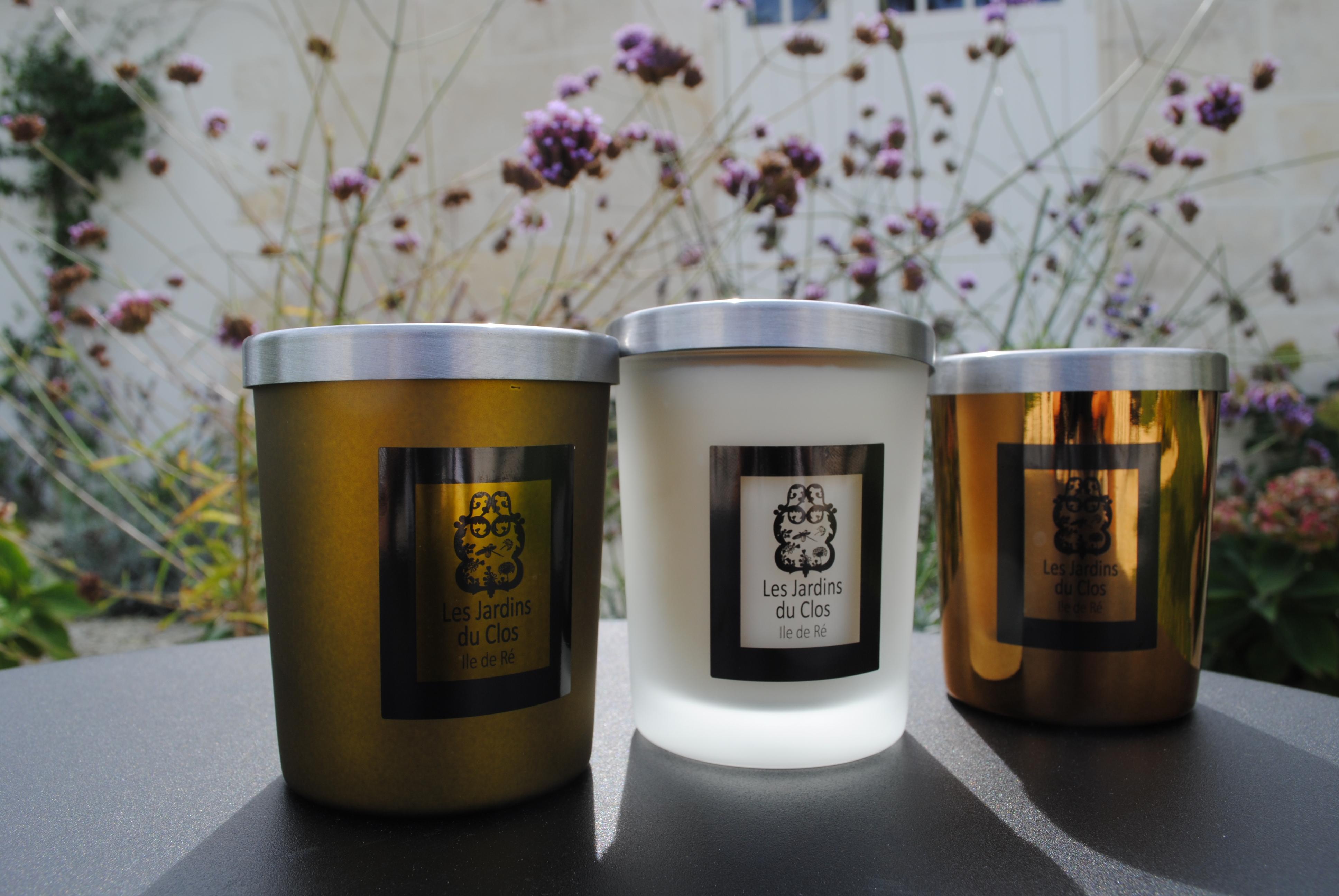 Photo Jardins du Clos bougies