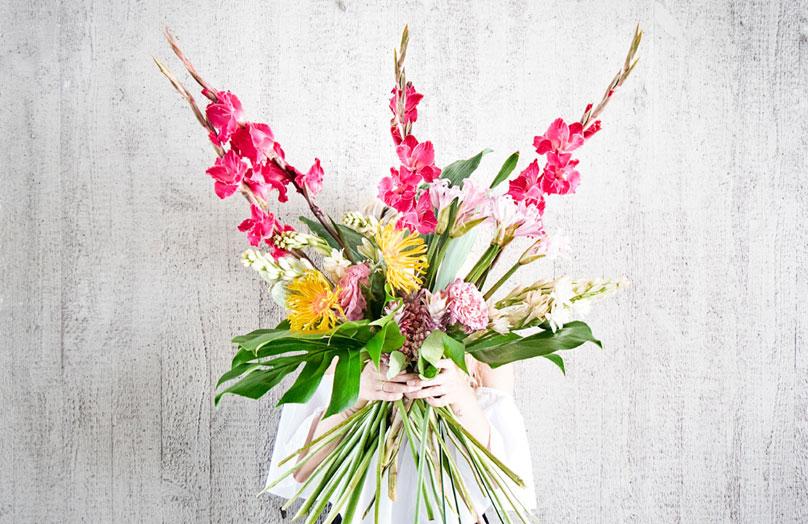 Le bouquet du mois : Août