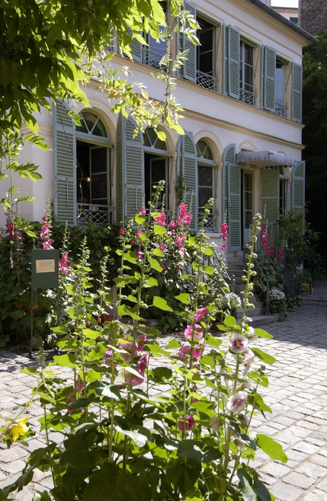 Musée de la Vie romantique (Façade avec roses) © DR