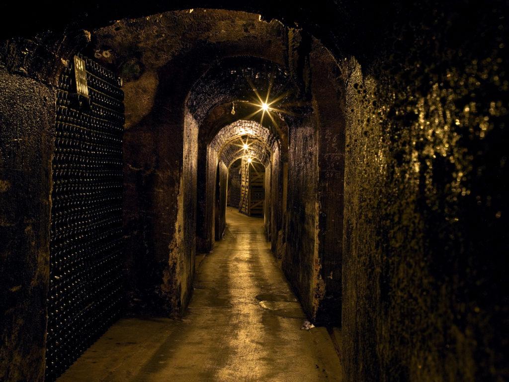 Couloir des caves