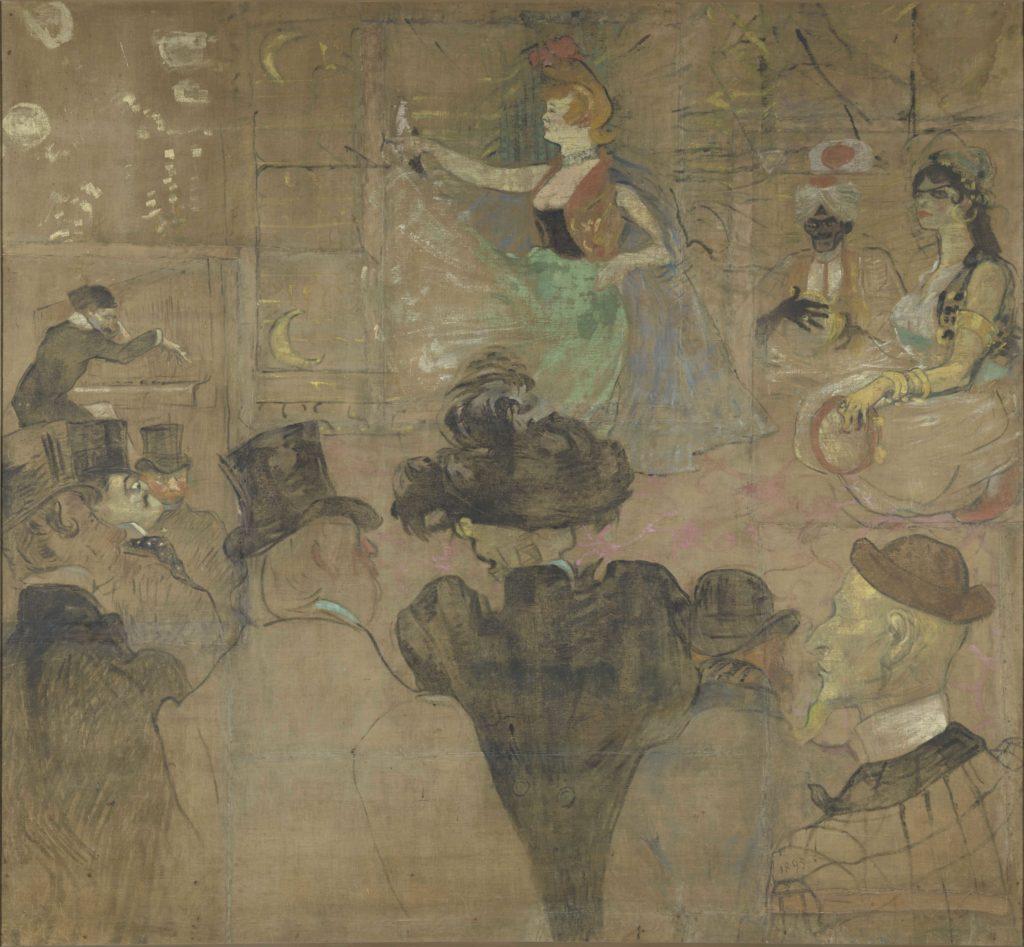 Toulouse-Lautrec Henri de (1864-1901). Paris, musée d'Orsay. RF2826.