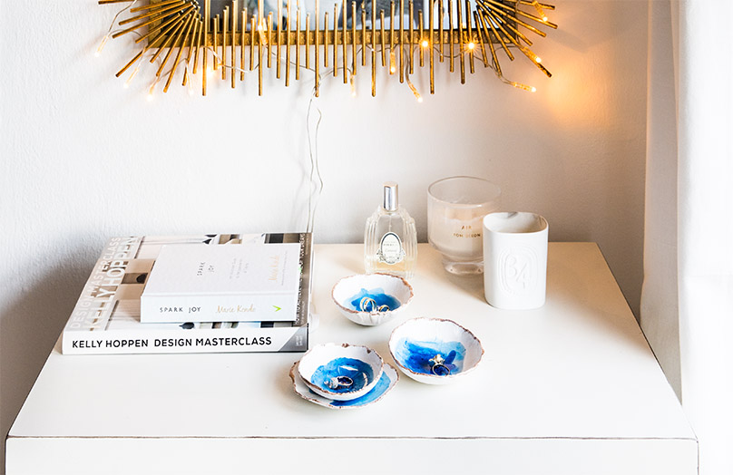 DIY : des coupelles à bijoux