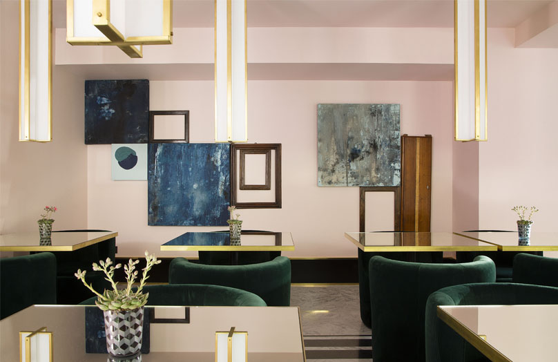 Le Saint-Marc, un hôtel parisien signé par le célèbre studio italien Dimore