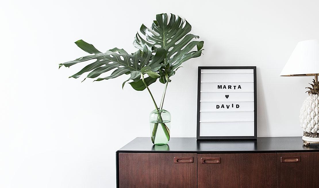 cadre lettres DIY déco décoration