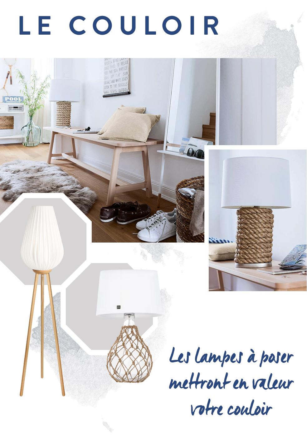 lampes couloir