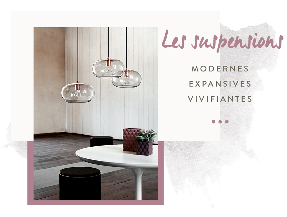 suspensions deco