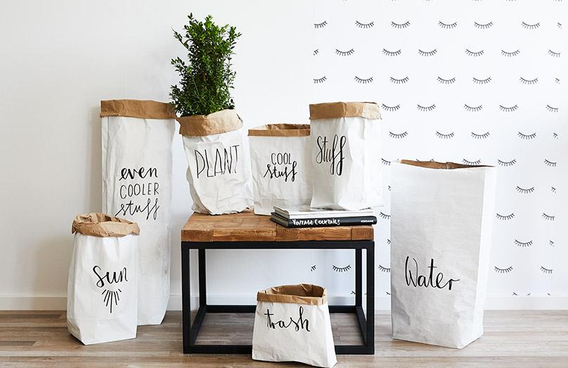 DIY Un sac en papier