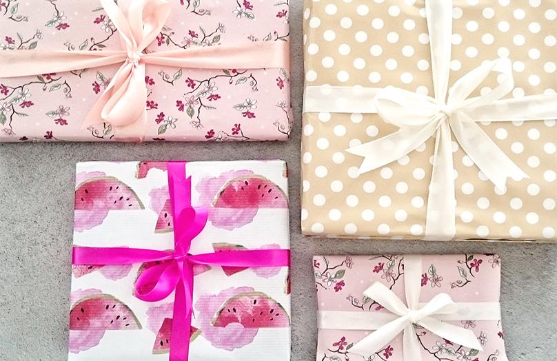 L'emballage cadeau parfait !