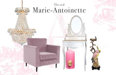 Le boudoir façon Marie-Antoinette