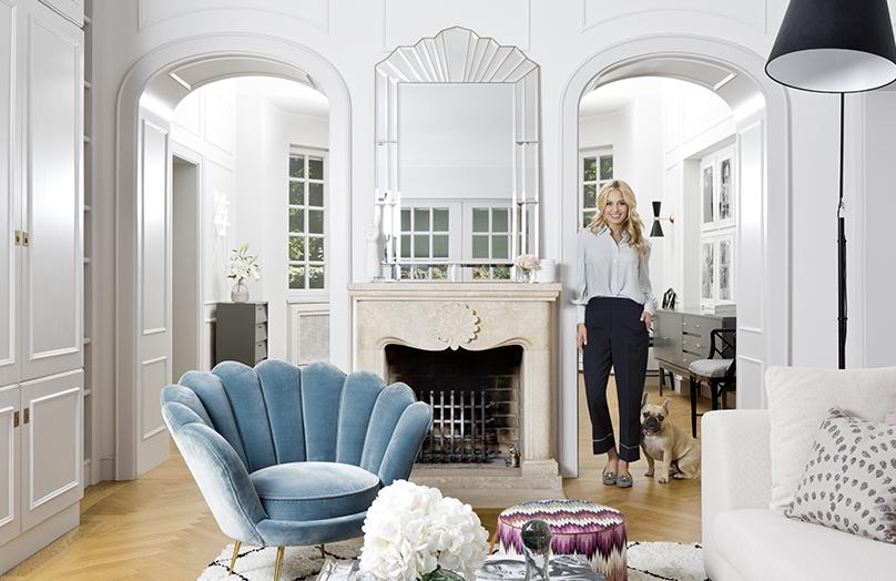 Bienvenue dans la maison glamour de Delia Fischer