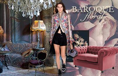 Trend-alert : le style baroque floral