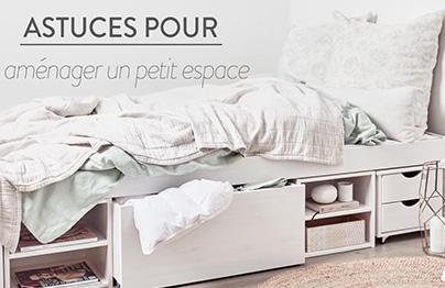 Espaces XXS : Un appartement petit... mais stylé !