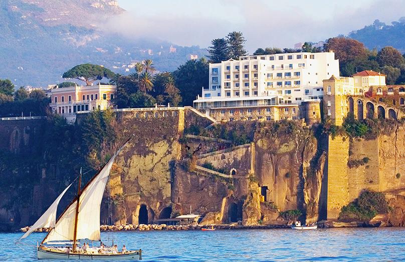 Parco dei Principi : hôtel iconique à Naples