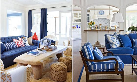 divani blu