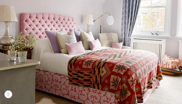 letto rosa