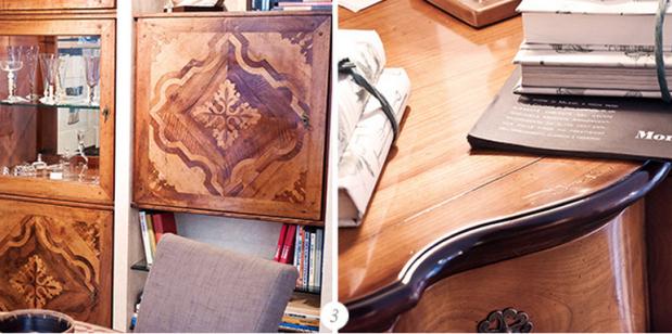 mobili in legno mornata