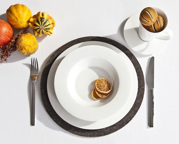piatto e zucche
