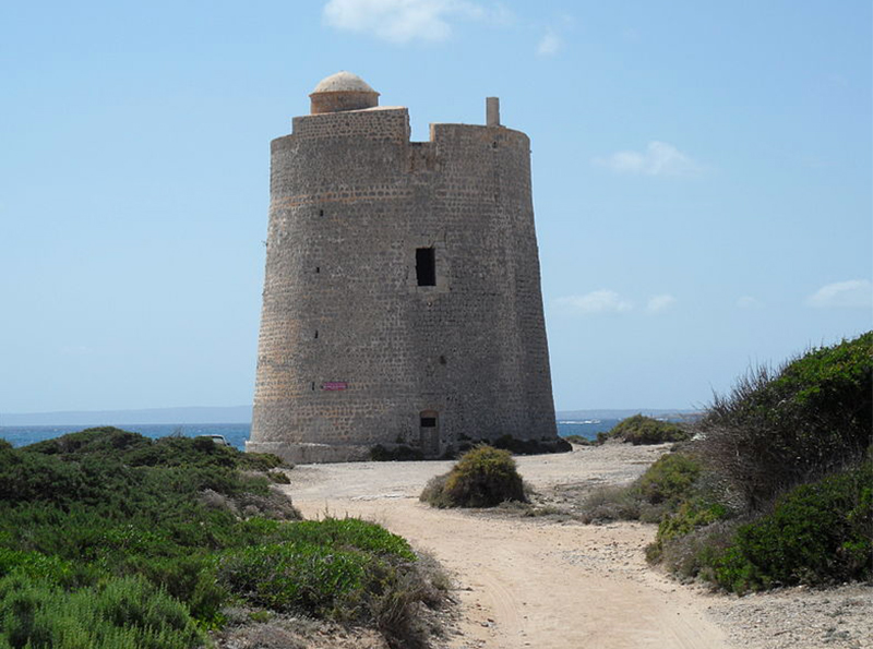 Ibiza - Torre - Ses Portes - Eivissa - beni - culturali