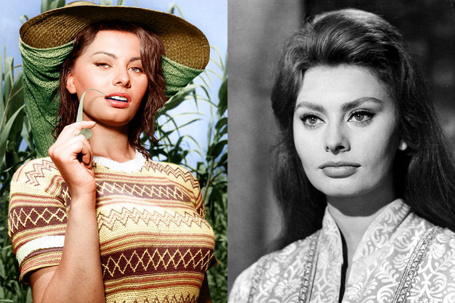 Sophia-Loren, Dalani, Hollywood, Cinema, Oscar, Made-in-Italy