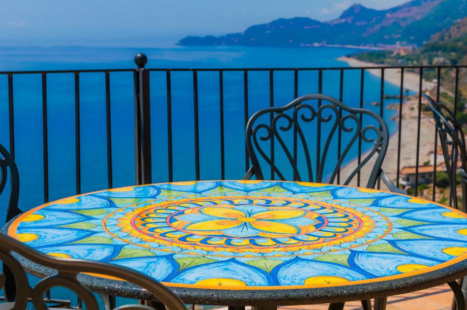 Stile mediterraneo, Casa, Stile, Mediterraneo, Maioiche, Mosaico