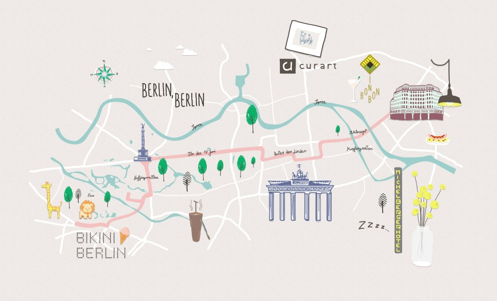 Style-Trip-a-Berlino, Dalani, City-Tour, Style, Guida, Mappa, Berlino