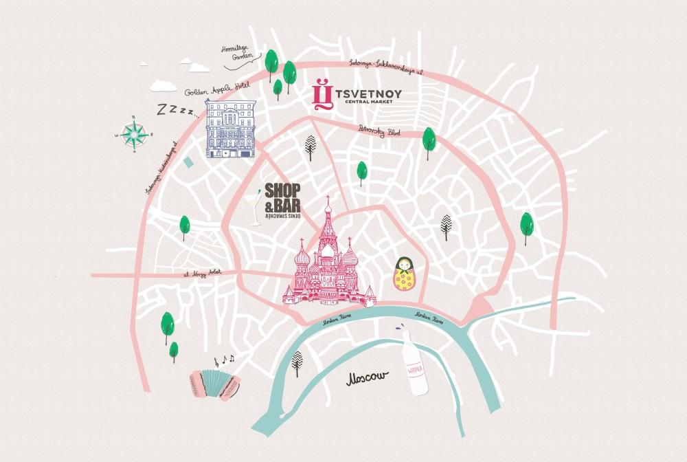 Style-Trip-a-Mosca, City-Tour, Style, Dalani, Mosca, Cosa-fare, Dove-andare, Mappa, Percorsi