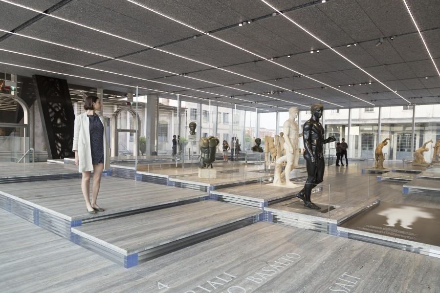 Il progetto architettonico, sviluppato dallo studio Oma guidato da Rem Koolhaas, espande il ventaglio delle tipologie di spazio in cui l'arte può essere esposta e condivisa con il pubblico.