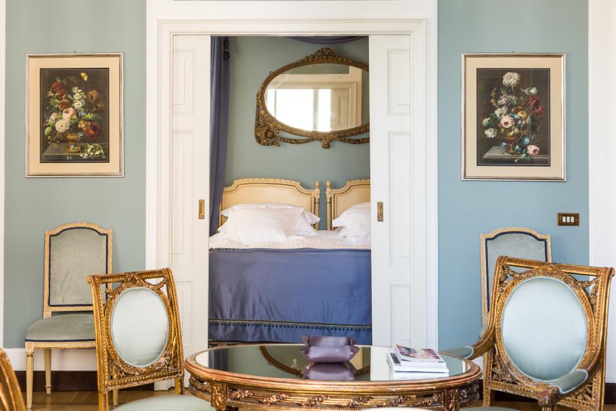 Molte stanze sono una brillante testimonianza dell'architettura del diciannovesimo secolo.
