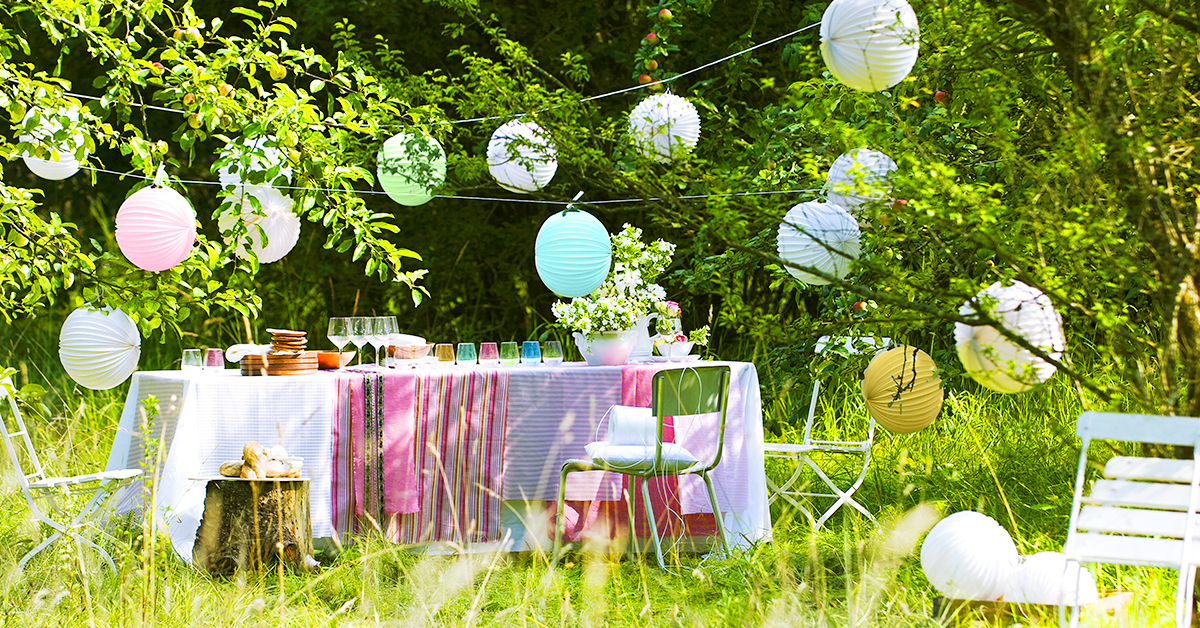 Festa in giardino, Festa, Giardino, Consigli, Idee, Stile