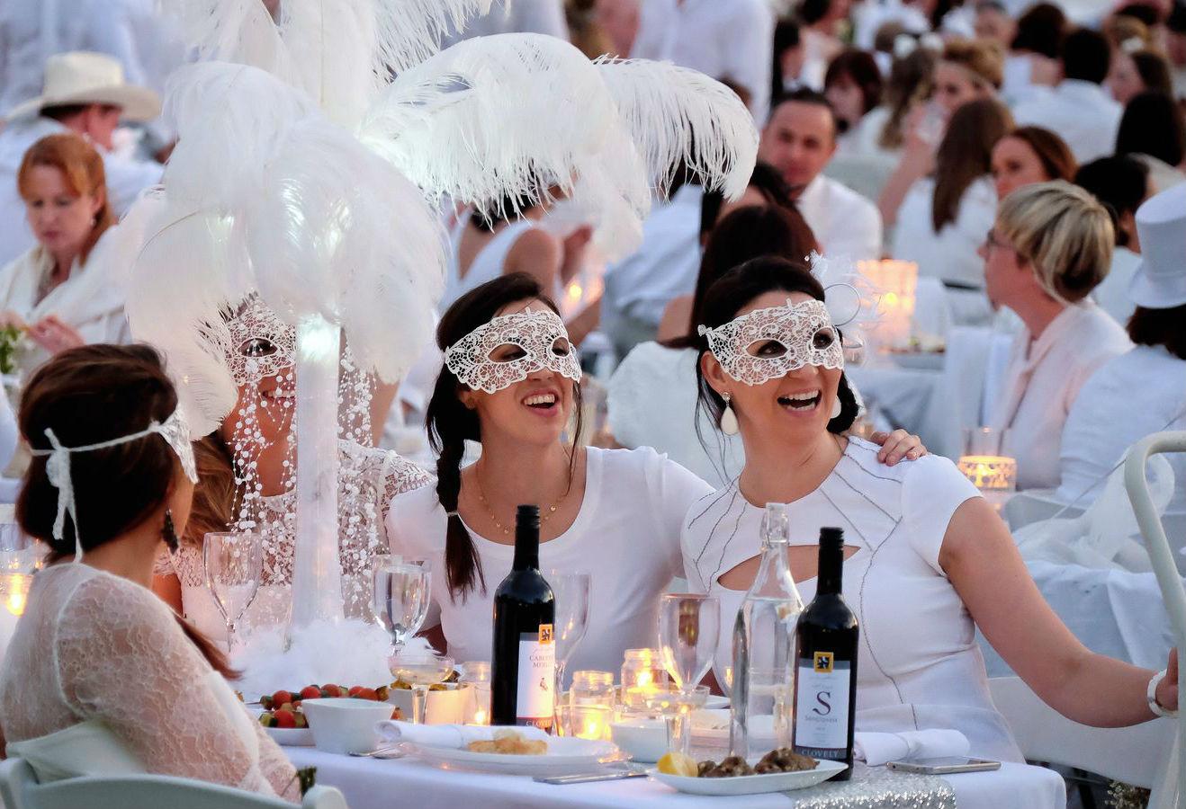 Dalani, Diner en Blanc, Parigi, Outdoor, Trend