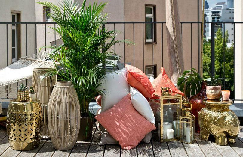 Decorare il terrazzo - A casa di Jenny Knäble