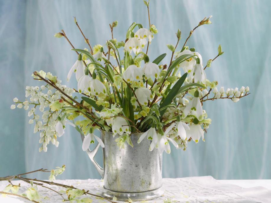 Bouquet-invernale, Fiori-invernali, Fiori, Decorazioni, Fai-da-te, Natale, Idee