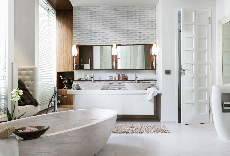 Come arredare il bagno pratico 5 idee westwing magazine - Decorazioni pareti bagno ...